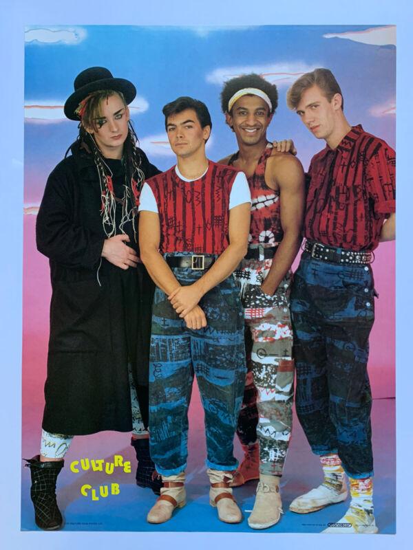 "Original 1984 Culture Club Poster 20.5 x 28"" 1980"