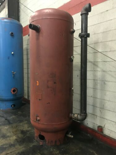 Vertical Air Tank Steel Fab Inc 137 PSI 450F 450 gallons