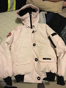 Canada Goose Light Pink Bomber Small
