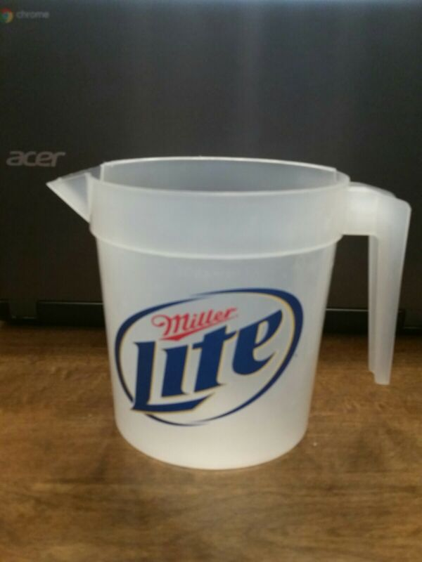Miller Lite Plastic Pitcher