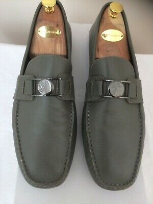 VERSACE DRIVING LOAFERS-UK 11-TODS CROCKETT JONES CLEVERLEY EDWARD GREEN