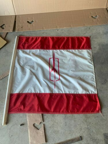 Vintage Original Oldsmobile Showroom Cloth Banner