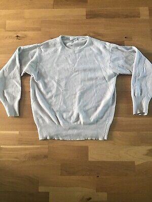 Pale Blue Vintage Cashmere Jumper. S