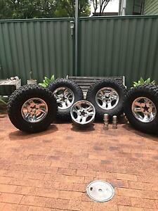 16X8 American racing wheels only Ford, Jeep, Valiant Dodge, Holland Park Brisbane South West Preview