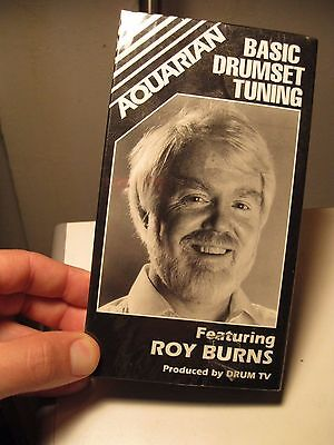 Vintage Basic Drumset Tuning Roy Burns VHS