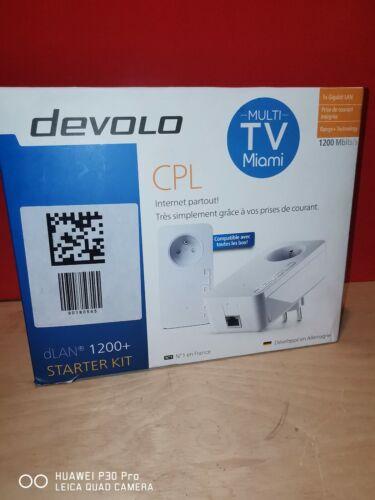 Devolo CPL dLan 1200+ Starter Kit - 1200 Mbits/s