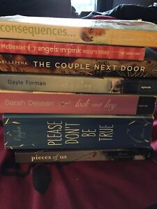 Mixed group of BOOKS