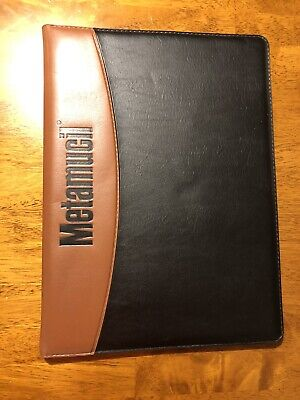 Drug Rep  Metamucil Portfolio Folder Padfolio Notebook For Business