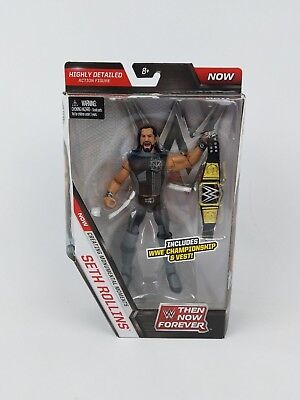 Wwe Elite Series Seth Rollins Then Now   Forever Action Figures