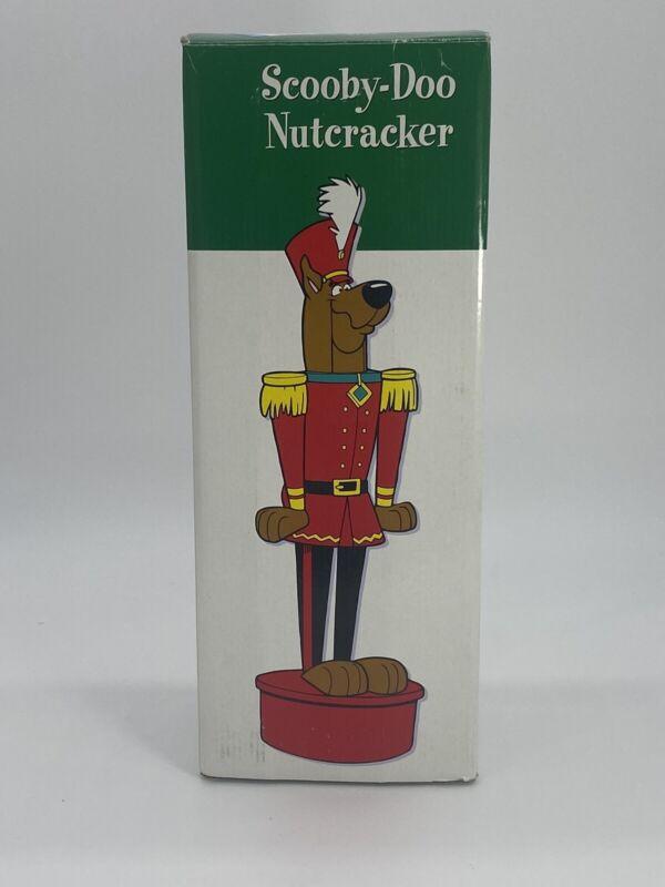1997 Warner Brothers Studio Store Scobby-Doo Nutcracker Figure IOB