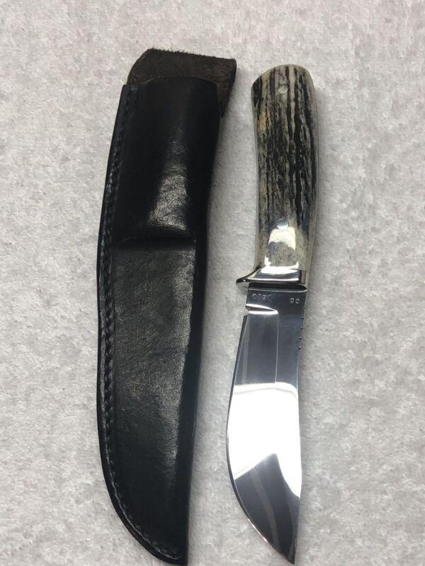 Beautiful Custom Made Fixed Knife By David Manley From South Carolina