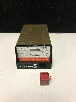 Endevco Modal 61a-500 Isotron Pe Accelerometer