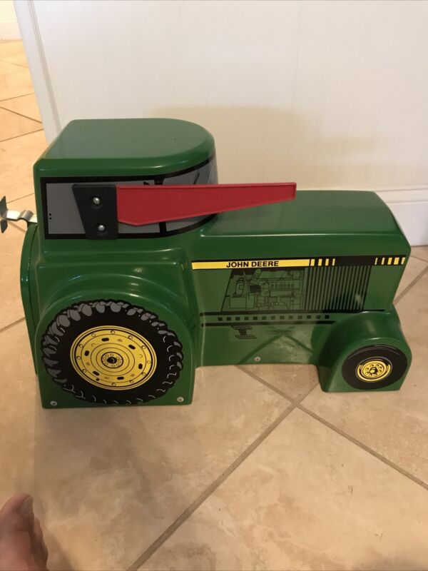 John Deere Tractor Mail Box  New Condition