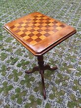 Handmade wooden chess table Dulwich Hill Marrickville Area Preview