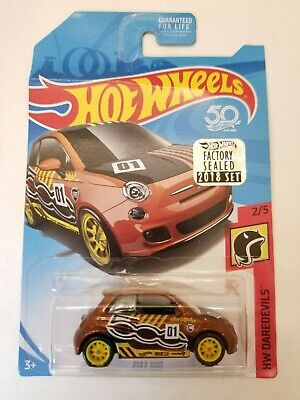 Hot Wheels Fiat 5000 2018 Super Treasure Hunt Factory Sealed BENT CARD
