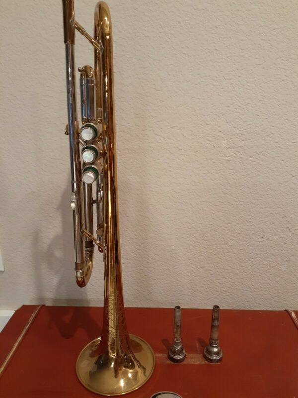 York Super Custom Trumpet with case