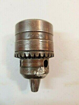Jacobs 12 Drill Chuck W 38 24 Thd Threads Sm8k61 5764-12 Cap 2mm-13 Usa