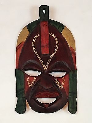 - Decorative Colorful Tribal Mask Home Decor Wall Hanging African Art