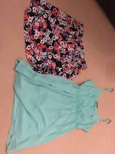 Summer dress & Floral skirt