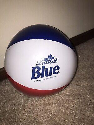 New. Labatt Blue Beer Beach Ball Man Cave Beer Sign Inflatable Beer Display Ball
