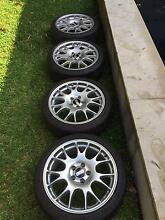 "Real 18"" BBS VZ wheels 5x112  w/ Michelin PS3 tires Balmain East Leichhardt Area Preview"
