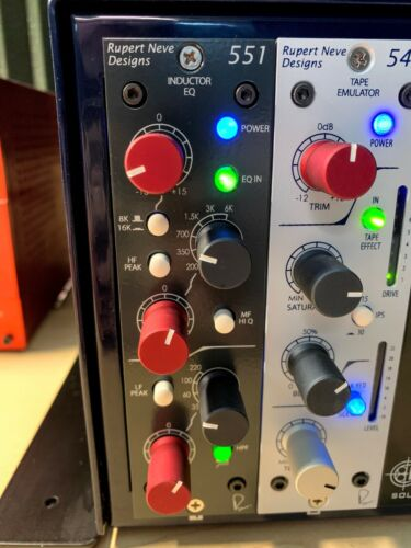 Rupert Neve Designs 551- 500 Series Inductor EQ Near Mint to Excellent cond