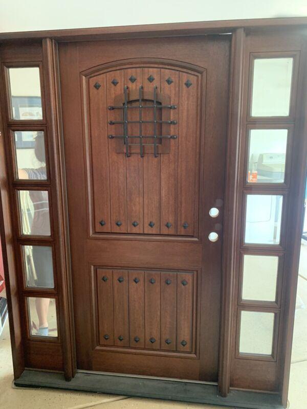Spanish Front Door Left Swing Brand New