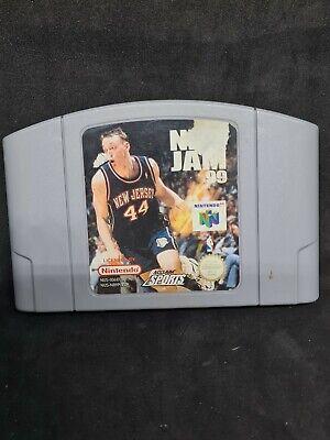 Nintendo 64 NBA Jam 99 N64 only Cartridge PAL