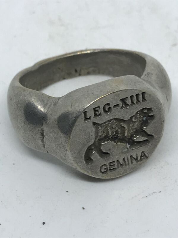 ANCIENT ROMAN  SILVER LEGIONARY SEAL RING