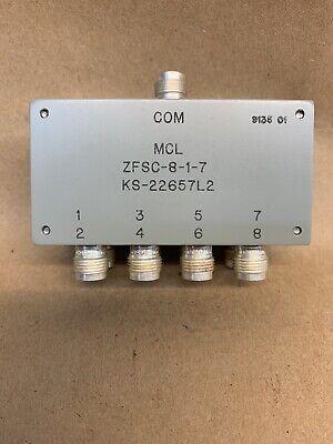 New Mcl Zfsc-8-1-7 Power Splittercombiner - Mini Circuits