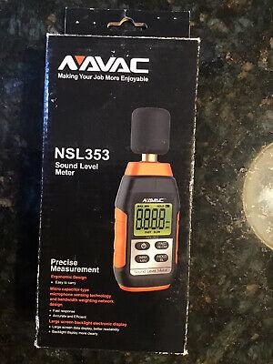 Navac Nsl353 Sound Level Meter 30-130db