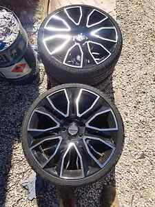 Set of 5 Pdw wheels hsv Pentagon look alike Parafield Gardens Salisbury Area Preview