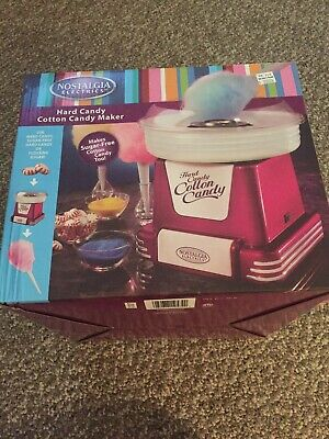 Nib New Nostalgia Cotton Candy Machine Maker Electric Floss Carnival Party