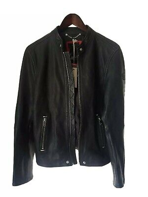 Diesel L-ROSHI XL Leather Jacket