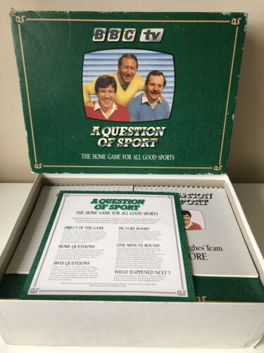 Vintage A Question of Sport Board Game BBC TV 1986 - COMPLETE - VGC