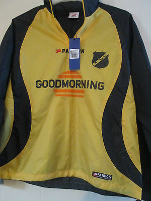 NAC Breda 2013-2014 Patrick Football Shirt Rain Jacket BNWOT Size medium /40542 image