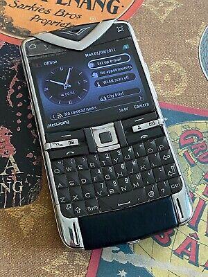 Genuine Vertu Constellation QUEST Luxury Phone Ceramic leather Super RARE $1