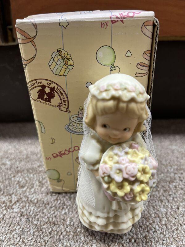 Memories of Yesterday Figure Bride Girl New 135178 1994 w/ Box