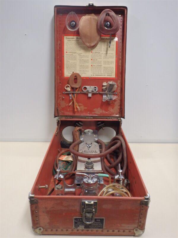 Vintage Emerson Resuscitator, Model M, Y 101 - AS IS