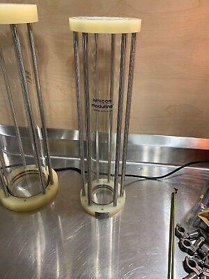 Amicon Moduline Model 690x500 Borosilicate Glass Chromatography Column 35psi Max
