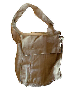 1930s Handbags and Purses Fashion Vintage 1930's Girl Scout Brownie Cross Body Bag Satchel Brown $49.99 AT vintagedancer.com