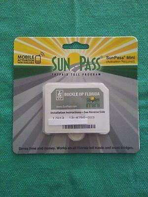 Florida SunPass Mini Transponder Toll Road, Epass Compatible NEW sun pass