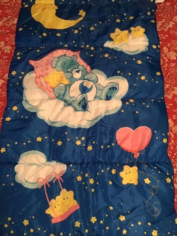 Rare Vintage Care Bears Sleeping Bag 2003. EUC