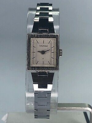 Vintage Waltham Automatic 17 Jewels Wind-up Analog Ladies Watch