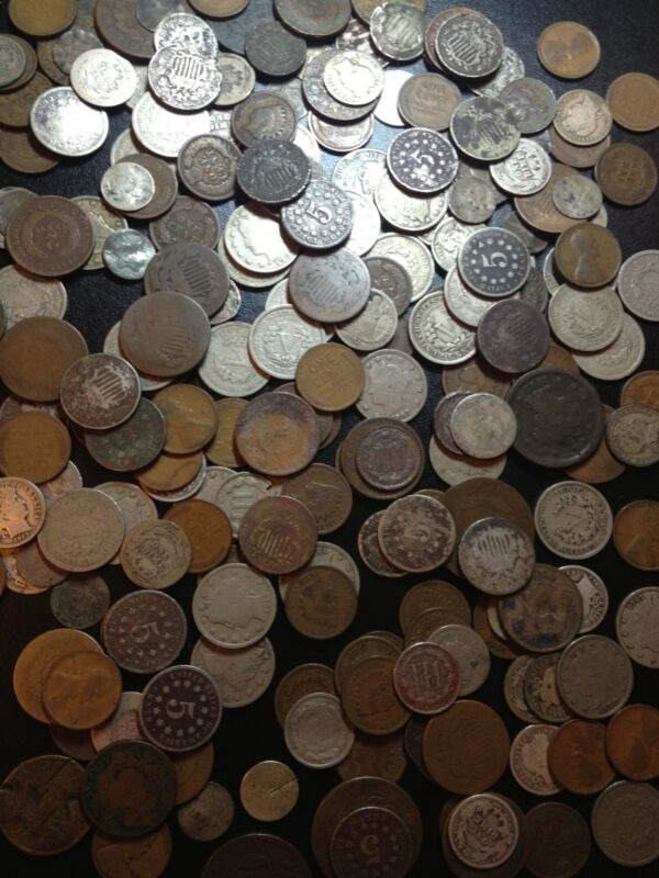 ✯COIN COLLECTORS ESTATE SPECIAL ✯ OLD US TYPE SET LOT ✯ SILVER COINS 100 YEARS+✯