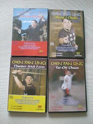 Bagua Zhang Pakua Chang Tai Chi Xing Yi Chuan Master Chen Pan Ling 4 DVD Set