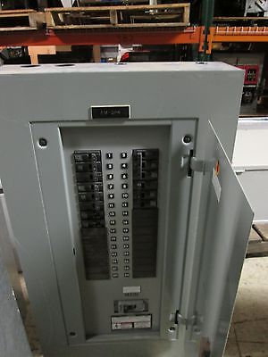 Siemens Main Breaker Panel Bg300h4225sbm 225a Main 208y120v 3ph 4w 30 Slot Used
