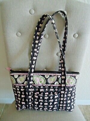 Vera Bradley Pink Elephant Shoulder Bag