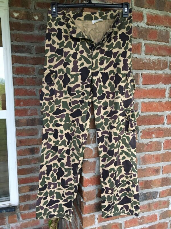 Vintage Early Vietnam War Beo Gam Duck Hunter Camo Camouflage Pants Beogam A-M