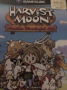 Harvest Moon GameCube with manual